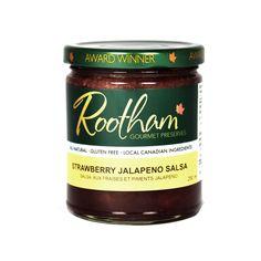 Strawberry Jalapeno - Gourmet Zesty Preserves gift set