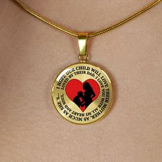 HusbandAndWife Mother and Daughter Necklace Arizona State and Utah State The Love Between Mother and Daughter Knows No Distance Necklace Funny Necklace Long Distance Jewelry for Women