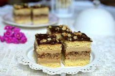 Prajitura Eszter Hazi cu ness | Miremirc Sweets Recipes, Something Sweet, Tiramisu, Ethnic Recipes, Foodies, Cakes, Drink, Pies, Kuchen