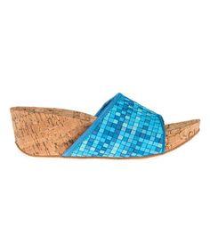 Love this Aqua Cork Tracy Sandal on #zulily! #zulilyfinds $24.99