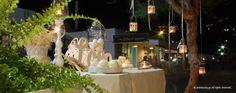 a Romantic Wedding Decoration in Syros island, Greece. Wedding Decorations, Table Decorations, Romantic, Wedding Decor, Romance Movies, Romantic Things, Dinner Table Decorations, Romance