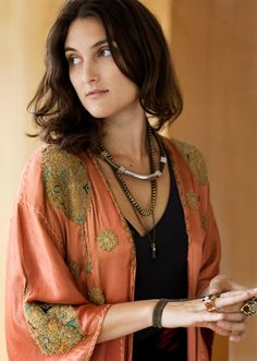 I've always wanted a Kimono as my house robe and was just thinking about one the other day - think it's time to get one