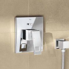 Grohe Eurocube UP-Einhand-Wannenbatterie - 19896000 Bathroom Hooks, Sconces, Wall Lights, Lighting, Box, Home Decor, Freestanding Tub, Cleaning, Bath Room