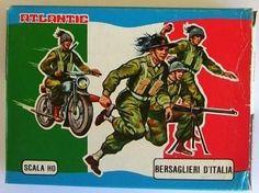 Collezione Soldatini Atlantic anni 70