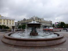 Theatre fountain @ Moscow, Russia