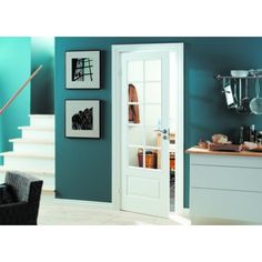 Swedoor dørblad Style SP10 glass hvit | Tore Ligaard AS Walk In Closet, Entryway, Gallery Wall, Doors, Furniture, Walking, Design, Home Decor, Modern