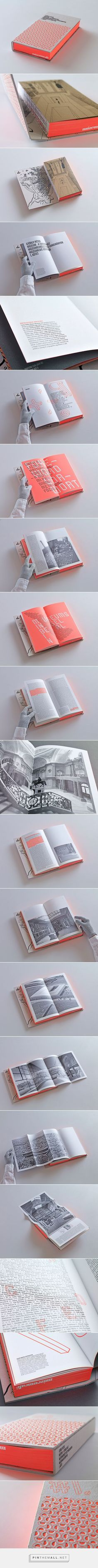 Museum – A House for Learning by Péter György on Behance #BooksBinding