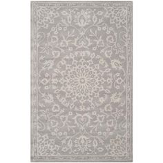 Bella Gray/Silver 5 ft. x 8 ft. Area Rug
