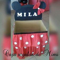 caja de regalos minnie mouse