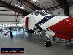 McDonnell-Douglas F-4E Phantom II S/N 66-0329 in Thunderbird markings, Tucson, Pima Air and Space Museum