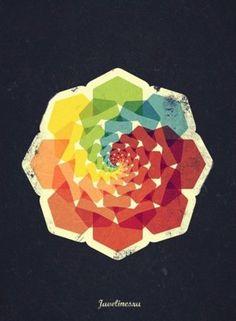 Graphic design colour wheel