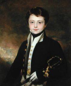 amiablydebauchedsloth:  Portrait of a Midshipman by Sir Martin Archer Shee.