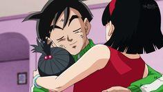 Gohan promete proteger a su esposa y su hija