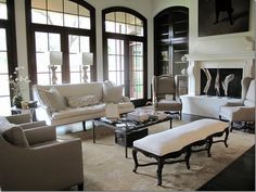 My new favorite room......Love everything showhouse by Maria Tracy, furnished by Custom Creations.