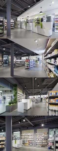 Proyecto Farmacia Cancale www.mobil-m.es @mobilm ©Frederic Baron #farmacia