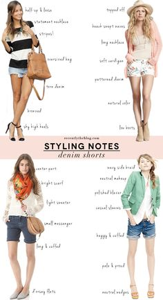 How to style your Jean Shorts