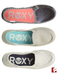 Watch out ladies! These shoes are so sweet they may cause a toothache. Enjoy a laid back weekend in the Minnow V slip-ons by Roxy.