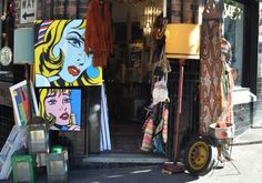 For lovers of antiques and bric-a-brac, Dust is the place to be for all things unique. From headdresses, taxidermy and chandeliers to vases, lamps and artworks.