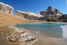 The Brèche de Roland - Roland's Breach - is a 40 metre wide, 100 metre high gap in the cliffs dividing the two sides of the High Pyrenees Aragon, Quality Hotel, Walking Holiday, French Alps, Pyrenees, Trekking, Hiking, Europe, Landscape