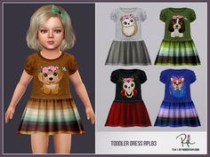 :: 5 swatches Found in TSR Category 'Sims 4 Toddler Female' Sims 4 Toddler Clothes, Toddler Dress, Toddler Outfits, Kids Outfits, Halloween Skirt, Sims 4 Clothing, Fairy Dress, The Sims4, Sims Cc