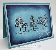 stampin up lovely as a tree images | ... that stamps: Lovely as a Tree - Brayer Style! Totally Stampin' Up