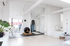 Entzuckend 1001 + Ideen Für Einrichtung Von Einer Mansarde. Wohnung Gestalten ...