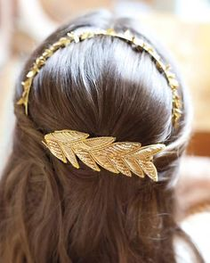 The love child of a headband and barrette--very cool.