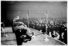 1964 - John Lennon, George Harrison and Paul McCartney.