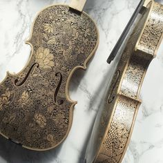 I Paint Stories And Biographies On Violins and Cellos By Hand