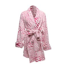 Soft & Pretty Pink Bathrobe.