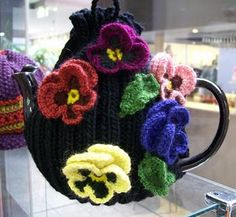 Pansy Tea Cosy Kit:  Woolshed, Australia