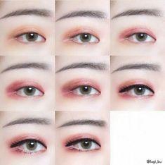Makeup Asian Eyes Asia 49 New Ideas Asian Makeup Monolid, Asian Eyeshadow, Asian Makeup Prom, Makeup Eyeshadow, Bts Makeup, Eye Makeup Art, Hooded Eye Makeup, Soft Makeup, Makeup Looks