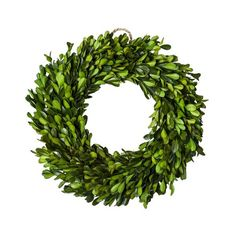 target.com smith-hawken boxwood wreath - good wreath for window frame above bed.