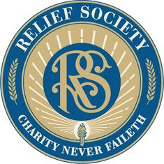High-resolution image of the redesigned Relief Society Seal.