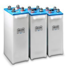 Iron Edison Nickel-Iron Batteries! If you haven't researched NiFe batteries, it's time to take a look. These babies will last you decades, can withstand a full discharge (with no damage), and aren't toxic to the environment... ahem... Can't say that for Lead-Acid, now can we?