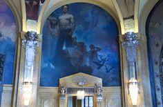 The Municipal House (Obecni Dum) ceiling, Prague - 8886.jpg