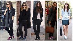 Moda celebrities cine etc: Outfits cómodos para viajar.
