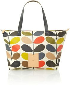 Pin for Later: Must Haves From London Fashion Week's Big Names Orla Kiely Classic Multi-Coloured Stem Print Tote Bag Orla Kiely Classic Multi-Coloured Stem Print Tote Bag (£99)