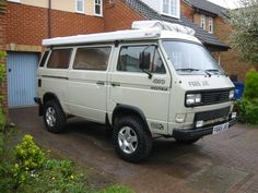 Vanagon - View topic - Limey, The Syncro 16 Westy. Volkswagen Westfalia, Vw Vanagon, Vw Bus, Small Motorhomes, T3 Vw, Transporter T3, T3 Camper, Day Van, Combi Vw