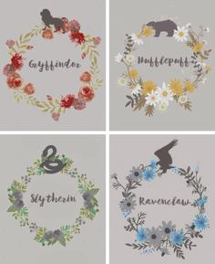 Hogwarts Houses: Gryffindor, Ravenclaw, Slytherin, and Hufflepuff More