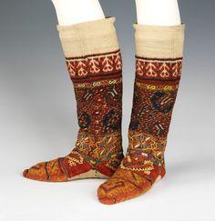 Macedonian socks via The Costume Institute of the Metropolitan Museum of Art