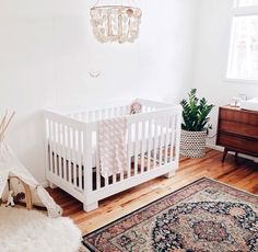 White nursery | Shop. Rent. Consign. MotherhoodCloset.com Maternity Consignment