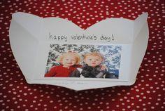 DIY Valentine's Day Heart Photo Cards