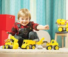 BIG Power Worker für Kinder ab 2 Jahren. Ideal für den Sandkasten. Lawn Mower, Outdoor Power Equipment, Sandbox, Rolling Stock, Children, Lawn Edger