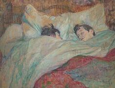 Henri de Toulouse-Lautrec: Na cama, 1892