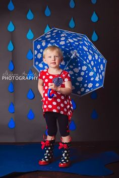 April Showers Photoshoot