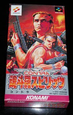 Contra Spirits for Super Famicom #Contra #Spirits #SuperFamicom #Super #Famicom #SNES #SFC #Nintendo #16bit #Retro #Gaming