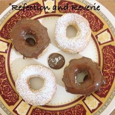 Low Fat Donuts/ Doughnuts (Air Fried) As you would have realized by now, I am probably the biggest air fryer supporter alive! Honestly I think Philips should hire me to promote the air fryer and write a recipe book for them.My late… Power Air Fryer Recipes, Air Fryer Oven Recipes, Air Fry Donuts, Doughnuts, Fried Donuts, Phillips Air Fryer, Nuwave Air Fryer, Cooking Pork Roast, Cooking Bacon
