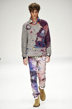 The Elitist View: Men's Fashion: James Long London Fashion Week