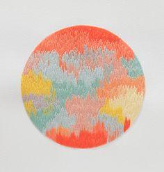 Art by Izziyana Suhaimi at Design*Sponge #embroidery